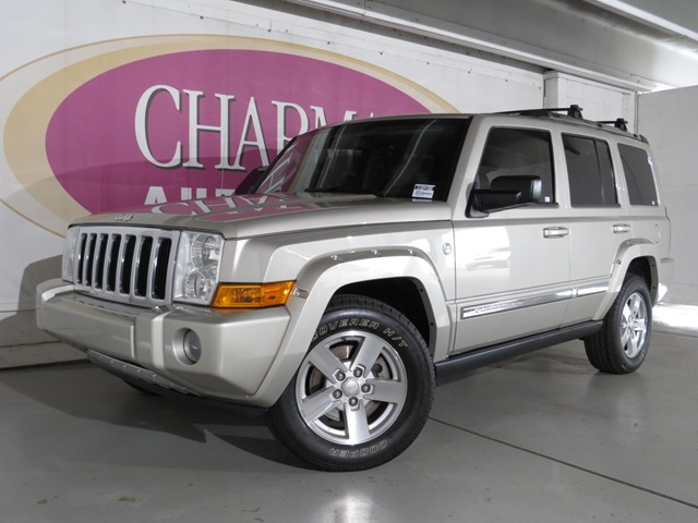 used 2007 jeep commander limited 4x4 stock d1604490b. Black Bedroom Furniture Sets. Home Design Ideas