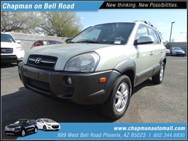 View the 2006 Hyundai Tucson