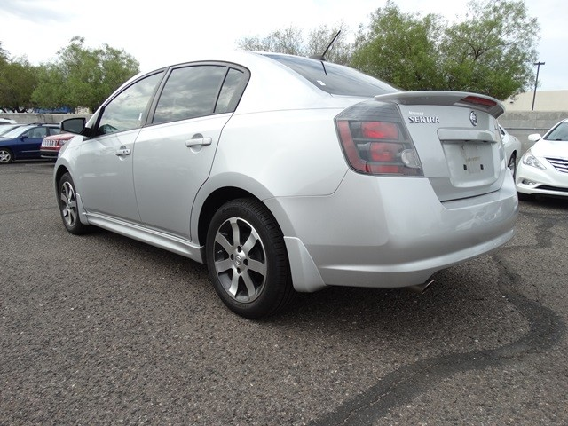 used 2012 nissan sentra 2 0 sr stock h17326a chapman automotive group. Black Bedroom Furniture Sets. Home Design Ideas