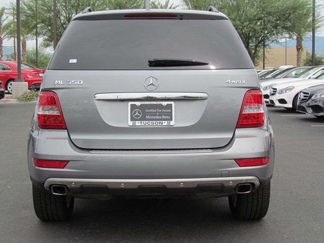 Used 2010 mercedes benz m class ml350 4matic stock for Mercedes benz ml350 4matic 2010