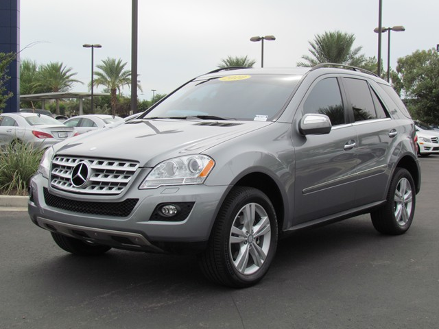 Used 2010 Mercedes Benz M Class Ml350 4matic Stock