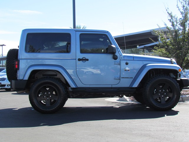 Used 2012 jeep wrangler arctic for sale at mercedes benz for Mercedes benz jeep for sale