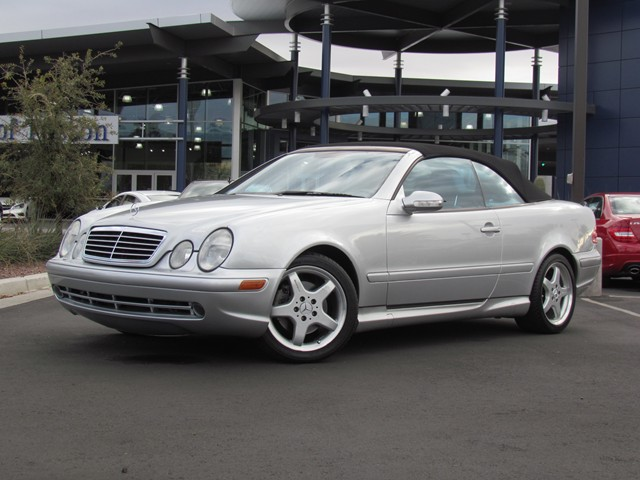 Used 2002 mercedes benz clk class clk430 for sale at for 2002 mercedes benz clk class
