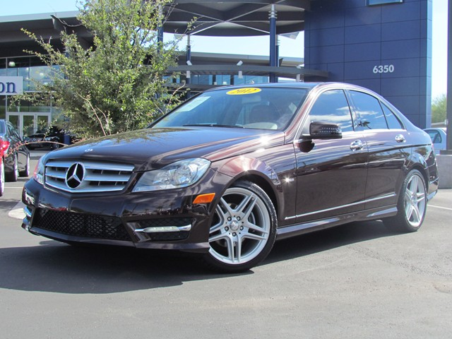 Used 2012 mercedes benz c class c250 sport for sale at for 2012 mercedes benz c class c250