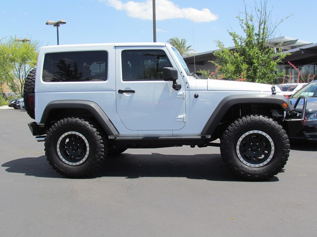 Used 2013 jeep wrangler rubicon for sale at mercedes benz for Mercedes benz jeep used