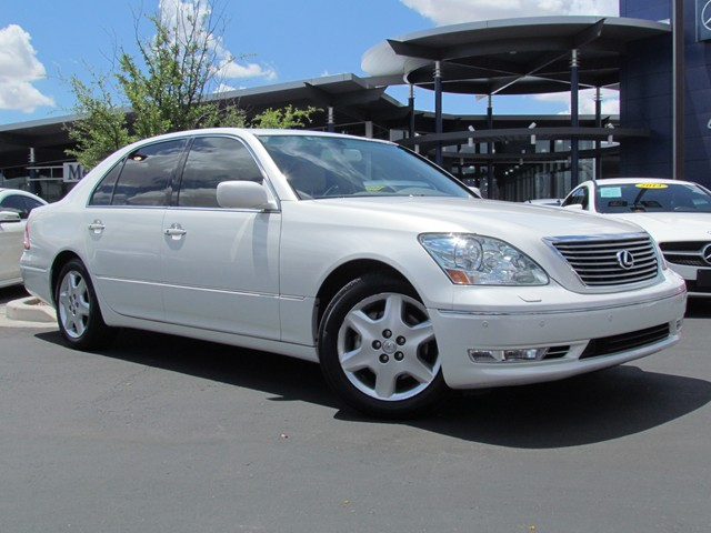 used 2004 lexus ls 430 for sale at mercedes benz of tucson. Black Bedroom Furniture Sets. Home Design Ideas