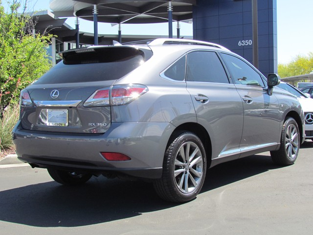 used 2015 lexus rx 350 f sport for sale at mercedes benz of tucson stock m1505680a. Black Bedroom Furniture Sets. Home Design Ideas
