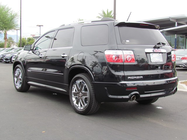 used 2012 gmc acadia denali for sale at mercedes benz of tucson stock m1506500a. Black Bedroom Furniture Sets. Home Design Ideas