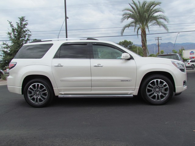 used 2013 gmc acadia denali for sale at mercedes benz of tucson stock m1506900a. Black Bedroom Furniture Sets. Home Design Ideas