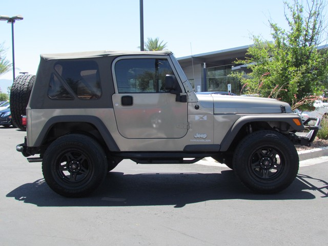 Used 2006 jeep wrangler x for sale at mercedes benz of for Mercedes benz jeep for sale