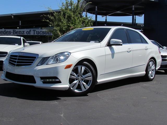 2013 mercedes benz e class e350 bluetec sport stock for Mercedes benz tucson az