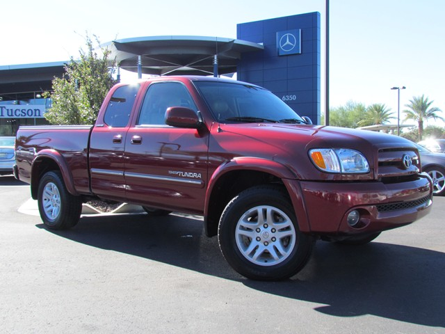 used 2003 toyota tundra limited extended cab for sale at mercedes benz of tucson stock m1601520a. Black Bedroom Furniture Sets. Home Design Ideas