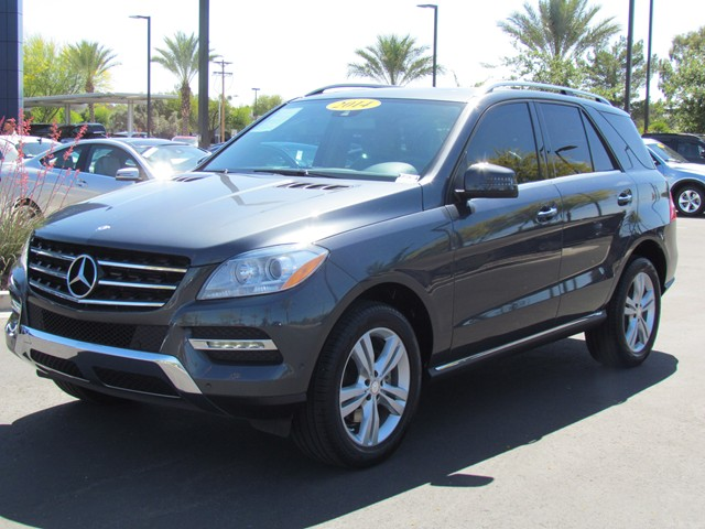 Used 2014 mercedes benz m class ml350 stock m1604280a for Mercedes benz roadside assistance free