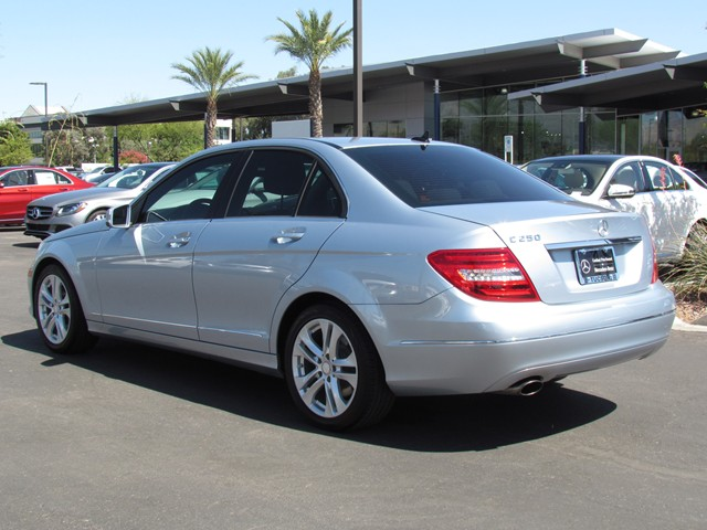Used 2013 mercedes benz c class c250 luxury for sale for Mercedes benz of tucson