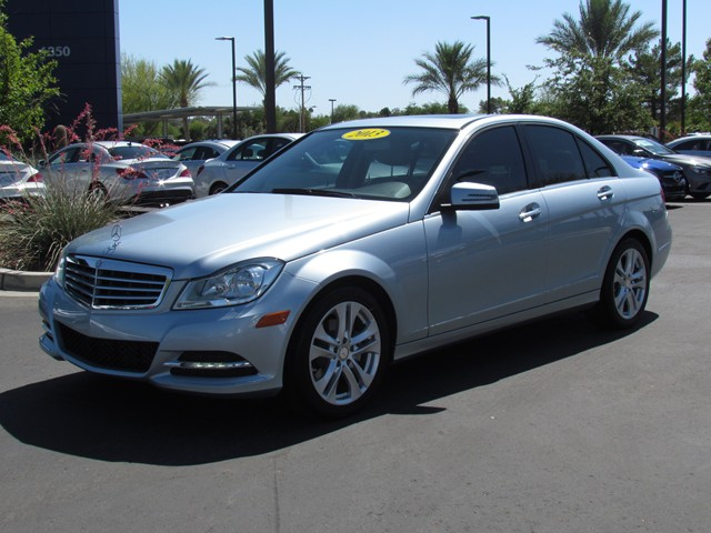 Used 2013 mercedes benz c class c250 luxury for sale for Mercedes benz silver spring service