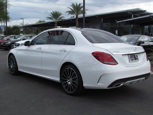 Used 2015 mercedes benz c class c400 4matic stock for Mercedes benz roadside assistance free