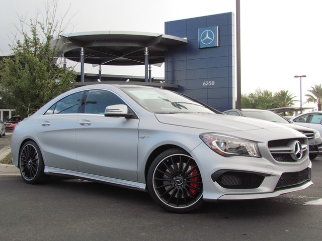 2015 Mercedes Benz Cla Class Cla45 Amg 4matic Coupe For