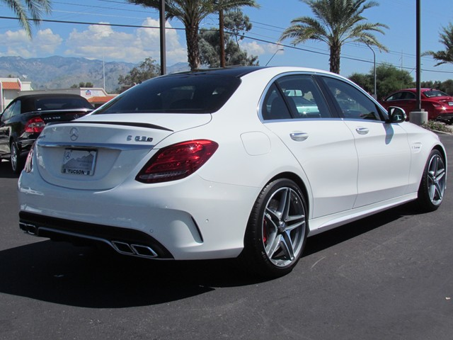 2016 mercedes benz c class c63 s amg sedan for sale at mercedes benz of tucson stock m1600580. Black Bedroom Furniture Sets. Home Design Ideas