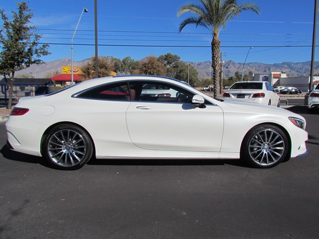 2016 Mercedes Benz S Class S550 4matic Coupe M1600660