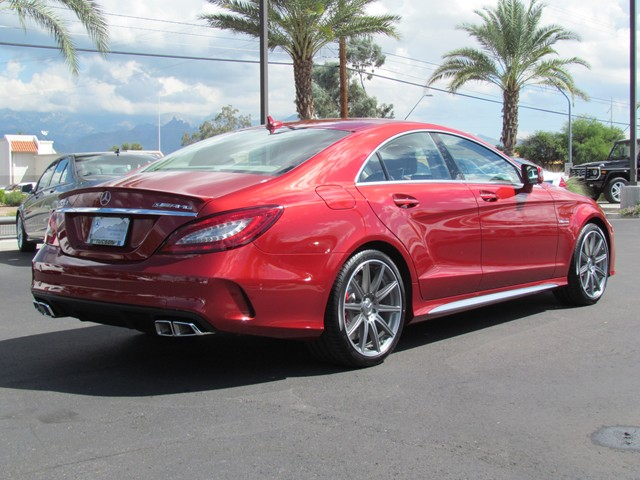 2016 mercedes benz cls class cls63 amg s 4matic sedan for sale at mercedes benz of tucson. Black Bedroom Furniture Sets. Home Design Ideas