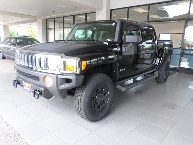 used 2010 hummer h3t crew cab stock 15656a chapman automotive group. Black Bedroom Furniture Sets. Home Design Ideas