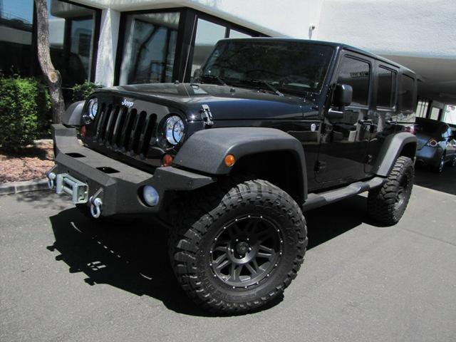used 2009 jeep wrangler unlimited x sport utility in phoenix for sale phoenix arizona 85014. Black Bedroom Furniture Sets. Home Design Ideas