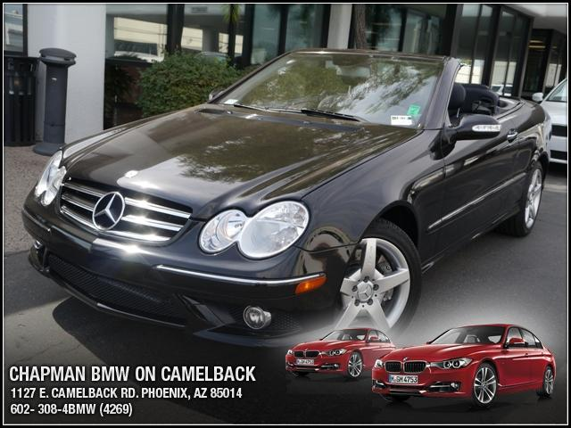 2007 Mercedes CLK-Class Cabriolet 55L 45721 miles Chapman BMW is located at 12th and Camelback in