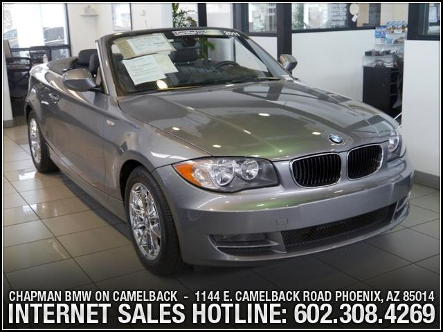 2011 BMW 1-Series 128i PremNav Pkg 29201 miles 1144 E Camelback SPRING SALES EVENT going on now