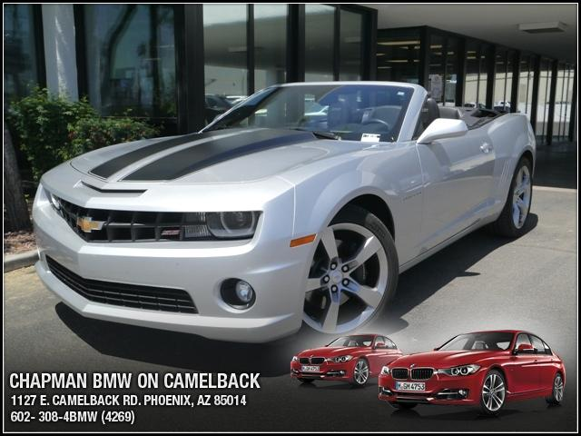 2011 Chevrolet Camaro Conv 2SS 10385 miles Chapman BMW is located at 12th and Camelback in Phoenix