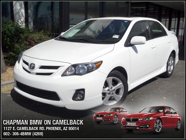 2011 Toyota Corolla 39901 miles Chapman BMW is located at 12th and Camelback in Phoenix 602-385-22