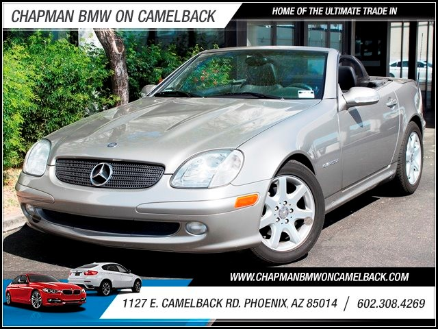 2003 Mercedes SLK-Class SLK230 Kompressor 32687 miles Sport Package Bose Premium Sound Leather