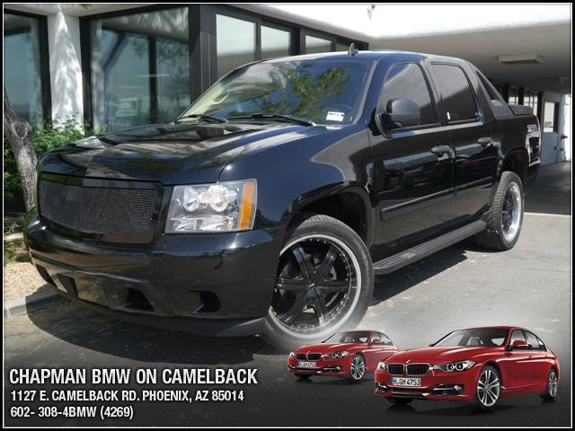 2007 Chevrolet Avalanche Crew Cab 109946 miles Chapman BMW is located at 12th and Camelback in Pho