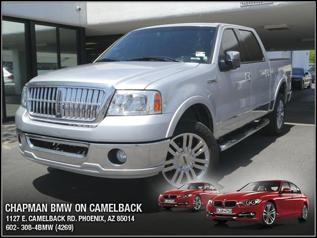 2007 Lincoln Mark LT Supercrew 4WD 81119 miles Chapman BMW is located at 12th and Camelback in Pho