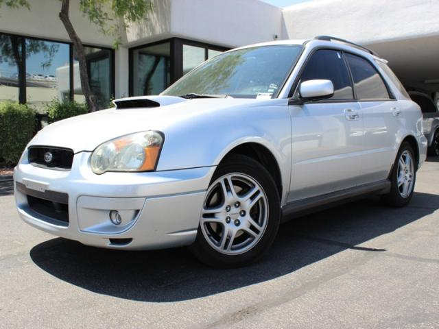 2004 Subaru Impreza Wagon 20 WRX Sport 92042 miles Chapman BMW is located at 12th and Camelback i