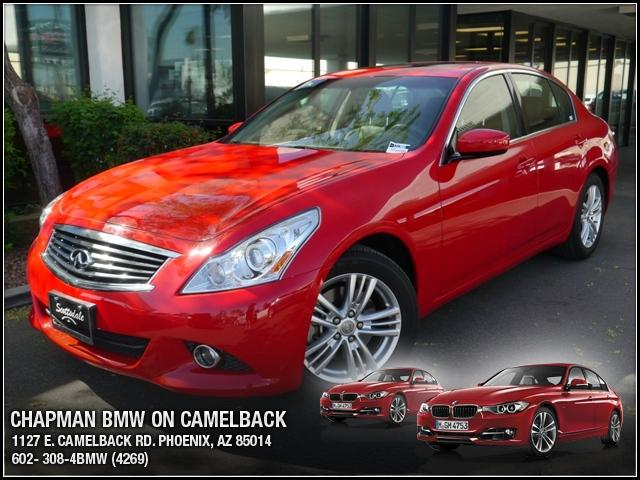 2012 Infiniti G37 24046 miles Chapman BMW is located at 12th and Camelback in Phoenix 602-385-2286