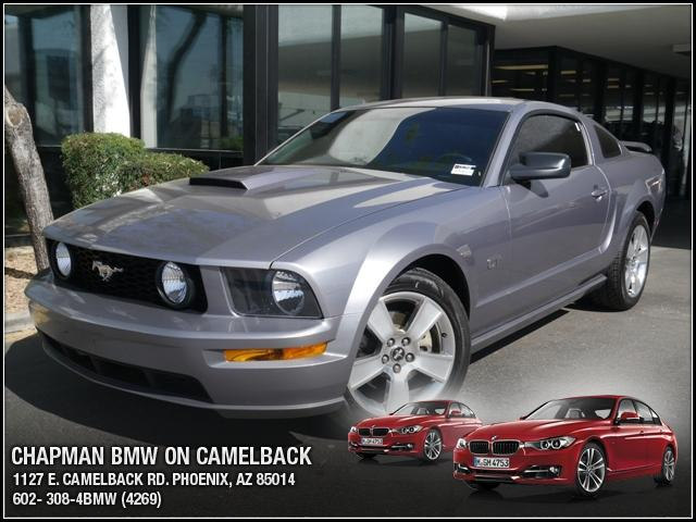 2007 Ford Mustang GT 33664 miles Chapman BMW is located at 12th and Camelback in Phoenix 602-385-2