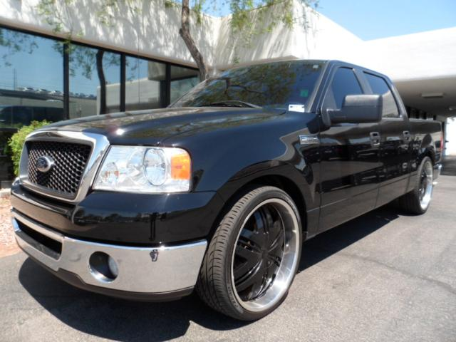 2008 Ford F-150 2WD SuperCrew 28504 miles Premium 20Black Coated Wheels ABS AC AMFM Stereo