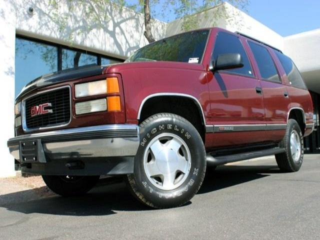 1998 GMC Yukon 1500 4WD 146909 miles Chapman BMW is located at 12th and Camelback in Phoenix 602-3