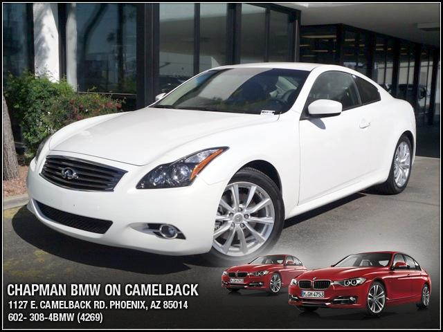 2011 Infiniti G37 18941 miles Chapman BMW is located at 12th and Camelback in Phoenix 602-385-2286