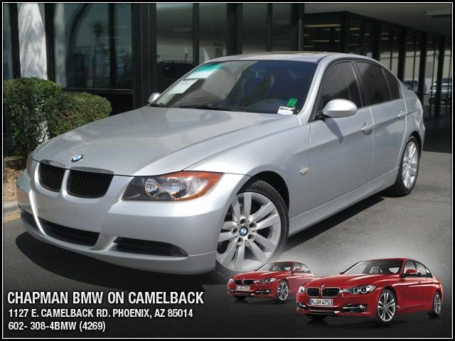 2007 BMW 3-Series Sdn 328i 60806 miles Chapman BMW is located at 12th and Camelback in Phoenix 602