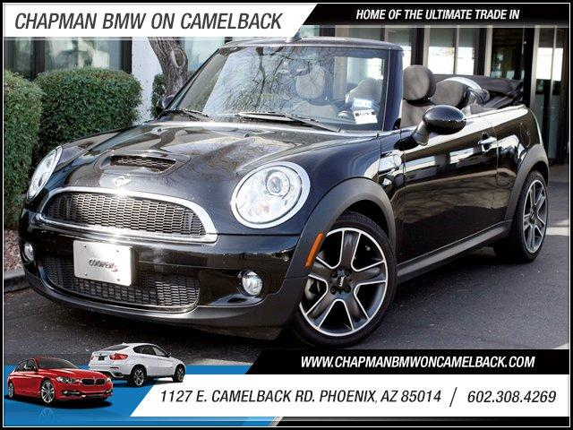 2009 MINI Cooper Convertible S 35546 miles 1127 E Camelback BUY WITH CONFIDENCE Chapman B