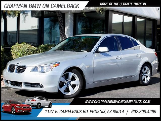 2007 BMW 5-Series 530i 60615 miles 1127 E Camelback BUY WITH CONFIDENCE Chapman BMW is lo