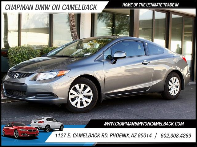 2012 Honda Civic LX 17889 miles 1127 E Camelback BUY WITH CONFIDENCE Chapman BMW is locat