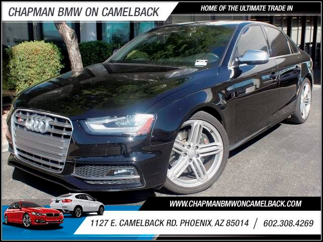 2013 Audi S4 30T quattro Prestige 25131 miles 1127 E Camelback BUY WITH CONFIDENCE Chapm
