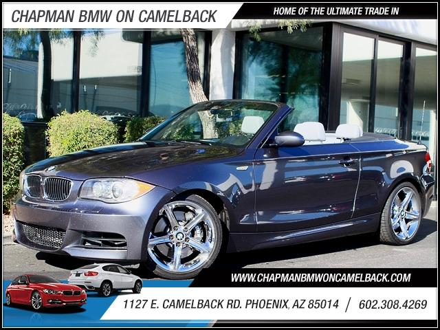 2008 BMW 1-Series 135i Conv 81970 miles 1127 E Camelback BUY WITH CONFIDENCE Chapman BMW