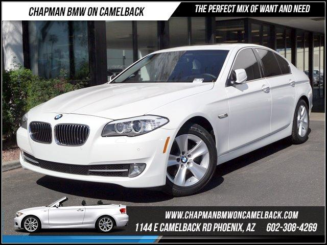 2012 BMW 5-Series 528i PremTech Pkg 19692 miles 1144 E CAMELBACK RD March CPO Sales Event Al
