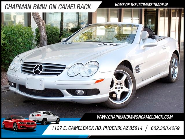 2003 Mercedes SL-Class SL500 79070 miles Chrome Mercedes Wheels Telematics system Cruise control