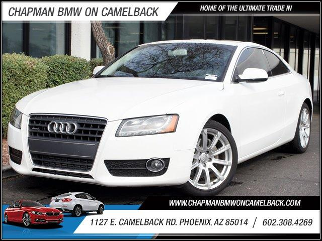 2011 Audi A5 20 quattro Premium Plus 40315 miles 1127 E Camelback BUY WITH CONFIDENCE Ch