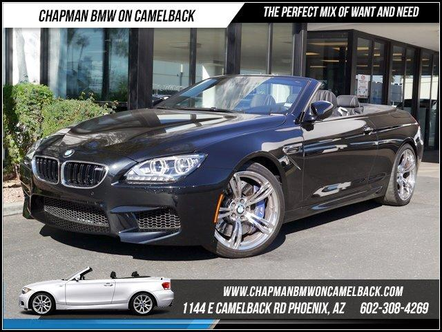 2013 BMW M6 Conv Executive Pkg 12410 miles 1144 E CAMELBACK RD March CPO Sales Event All 2011