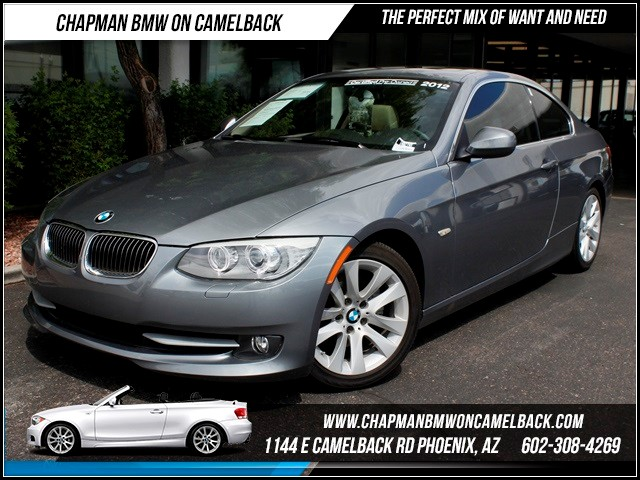 2012 BMW 3-Series Cpe 328i Prem Pkg Nav 26080 miles 1144 E Camelback The BMW Certified Edge Sale